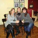 Con amigas