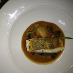 Fillet of Cod with Chicken and Mushroom Pie Sauce