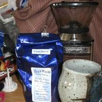 some of the local coffee lands fare if you are out and looking
