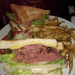 Club Sandwich at Dunns.
