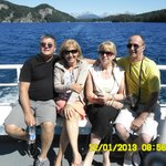 desde alli paseo en catamarán por el lago Nahuel Huapi hasta el Bosque de los arrayanes. Una mar