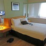 Room 221 - stark but comfortable