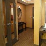 Entry - corner suite