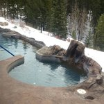 lower hot tub