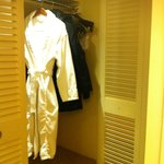 Closet/dressing room area