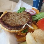 Frozen burger
