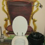 I just love this toilet seat. is very small.
