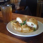 Great Food! Bullseye Sandwich and Sweet Tea