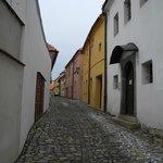 The Jewish Quarter in Trebic 2
