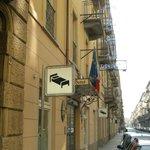 Esterno Hotel in Via Gioberti