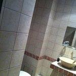 salle de bain improvisée