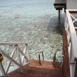 Water Bungalow - Private Deck