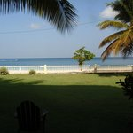 View of Grand Anse Beach from my suite