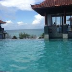 infinity pool at 4th floor