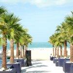 Dubai Marina Beach entrance