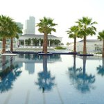 Meydan beach pool area