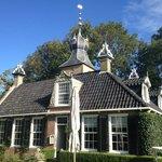 The main building of LAndgoed (Estate) Allingastate
