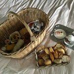 The breakfast basket room service