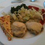 Repas de midi diététique