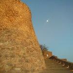 夕暮れの塔