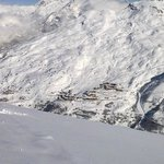 Valmeinier from ski slope