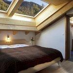 Schlafzimmer 4 Zimmer Wohnung Attika Esplanade