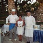 Greek hospitality at Greek barbecue