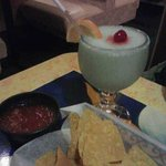 Margarita and Chips and Salsa