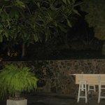 Outside Lounge Area