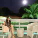 Luna Perfecta desde la terraza