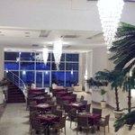 Lounge nähe Restaurant
