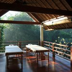 Yoga Pavilion and Outdoor Spa