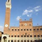 wenige Schritte bis zur Piazza del Campo