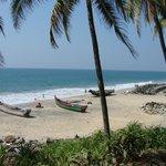 Fischerboote am Odayam-Beach