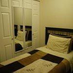 2BEDの部屋のクローゼット