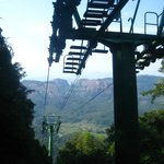 Cable car to mountain top