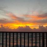 Ahhh, sunrise from the balcony