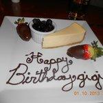 Special Birthday desert