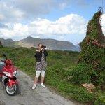 Tijdens onze scooter tocht over t eiland