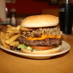 The famous Clint Burger. Mmm Good