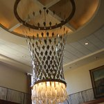 Fancy Lamp in Lobby