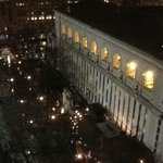 View of NYC Library from Room 1707 Sitting / Dining Room