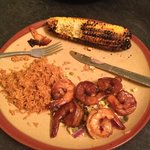 Smoked Chile Shrimp - is this really red pepper crusted?