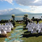 Setting for the wedding