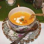 Carrot, Coconut & Ginger Soup