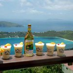 Complimentary Banana Daiquirs on Tropic Tours St Thomas Tours
