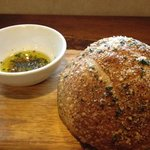 The rosemary bread. my god the rosemary bread. pace yourself with this or you'