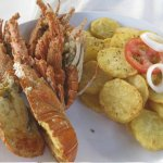 Fresh Grilled Lobster with Sautéed Potatoes