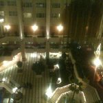 the atrium view from the room