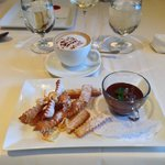 Dessert...chocolate soup